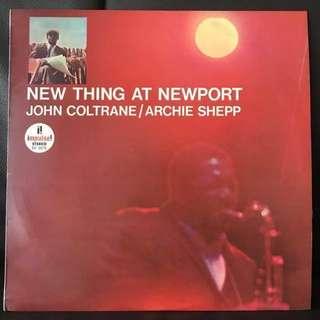 【Vinyl Record】 John Coltrane / Archie Shepp – New Thing At Newport