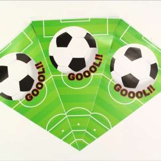 ⚽️ Soccer party supplies - soccer flag banner / bunting / party deco