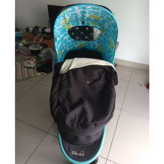 Almost new baby stroller