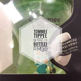 Tommee tippee teats and 9oz bottle