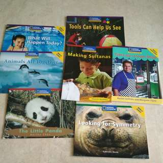 #5 National geographic readers