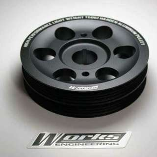 Works-Engineering Swift ZC21/31 1.5/1.6 lightened crank pulley