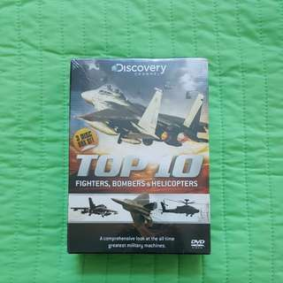 Discovery Channel Top 10 Fighters, Bombers & Helicopters