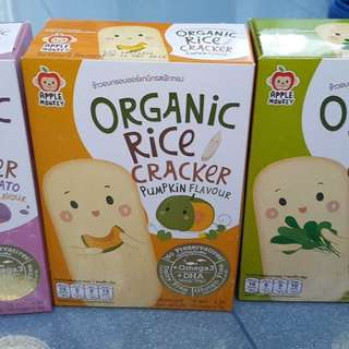 Baby Organic Rice Cracker
