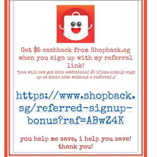 $5 Cashback Bonus by Signing from this Referral Link!