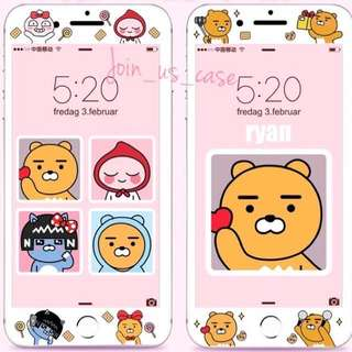 Kakao Friends mon貼(6/6s/6+/6s+/7/7+/8/8+)