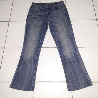 Semi bootcut Demi curve levis jeans