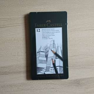 Faber Castell Professional Graphite Pencils