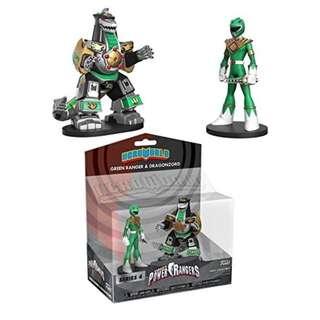 Mass Order: Funko Hero World Mighty Morphin Power Rangers (Target Exclusive) - Green Ranger & Dragonzord