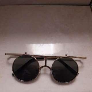 Kacamata retro vintage 2 lensa