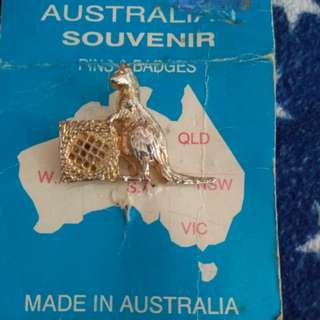 Australian  pins and badges