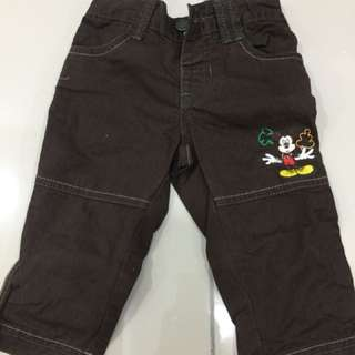 Disney Mickey Mouse Pants