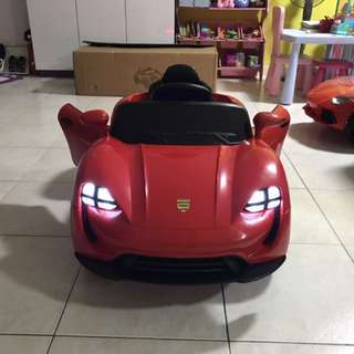 In stock - Kids Electric Car with Doors Opening - Red