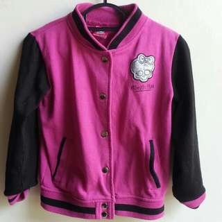 Monster High Baseball Jacket (8yo)
