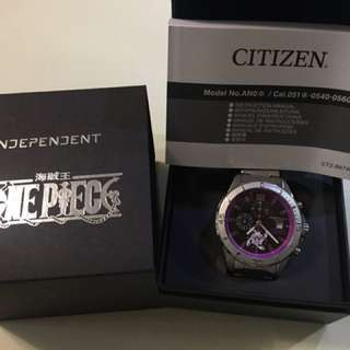 Independent One Piece 限量版手錶