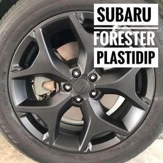 Subaru Forester Plastidip Mobile Service Plasti Dip