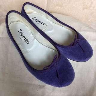 🧚🏻♀️90% new : Purple Bow Ballerinas
