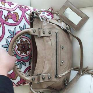Balenciaga  Handbag With Sling Mirror Authentic 95% New
