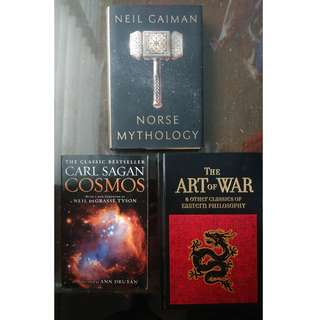 Neil Gaiman, The Art of War and Cosmos
