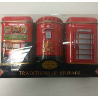 英國 traditional finest english tea (Red Can)