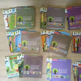 Oxford reading tree stage 1-2 including parent guidelines and audio CD