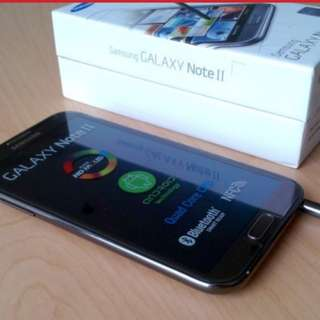 samsung galaxy note 2 black boxed