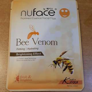 Nüface Prominent Essence Facial Mask