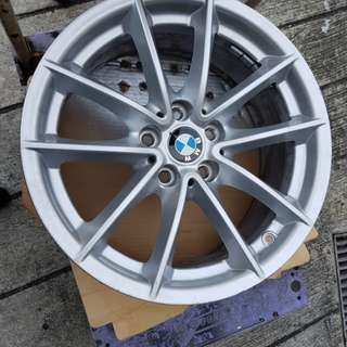 "BMW Rims 618 5x112 17"" set of 4 pcs. Fits only G30"