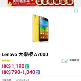 Lenovo a7000-a