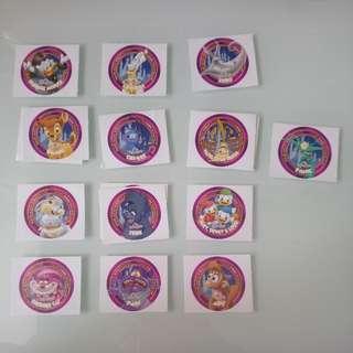 迪士尼貼紙(細圓)