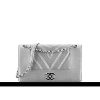 Chanel - Silver Flap Bag