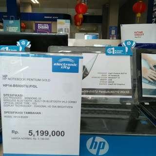 Kredit laptop HP dp ringan bunga ringan