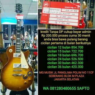 Gitar Epiphone LP std plus top bisa cicil tanpa dp