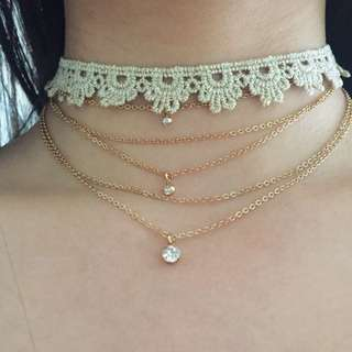 American Eagle Layered Choker