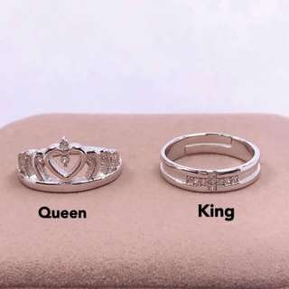 Crown couple ring