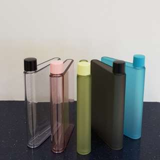 A5 Notebook Water Bottle (BPA Free)