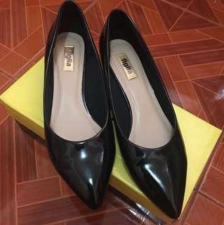 Figlia Black Heels