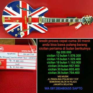 Gitar Epiphone Sheraton jack union bisa di cicil