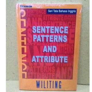 Buku Sentences Patterns And Attribute Seri Tata Bahasa Inggris