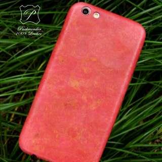 Oppo R9S Plus 純手工全皮 手機殼 手機套 leather handmade phone case DIY