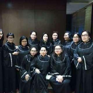 Sewa Jubah Paduan Suara / Choir.