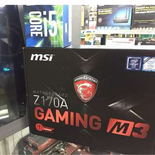 MSI Z170A GAMING M3 I5-6500 (Quad Core, 3.2Ghz , LGA1151)