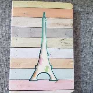 Paris tower notebook