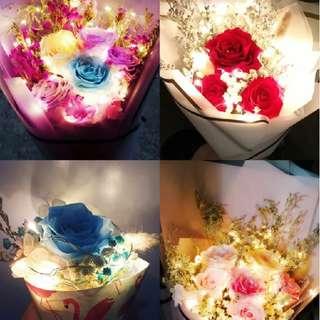 情人節 保鮮花 可以長期擺放