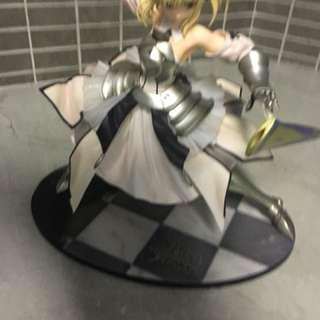 Fate/ saber statues