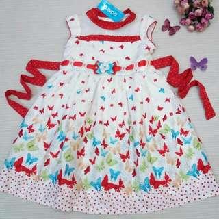 Dress pakaian anak perempuan