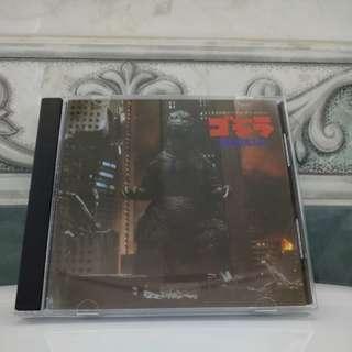 Japan CD Godzilla 1989 Soundtrack