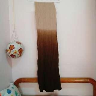 🚚 漸層圍巾純棉