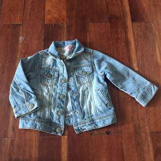 Jaket jeans anak