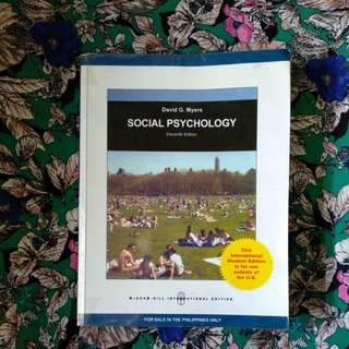 Social Psychology Eleventh Edition by David G. Myers